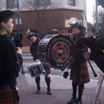 St. Patricks Day in downtown Coeur d'Alene